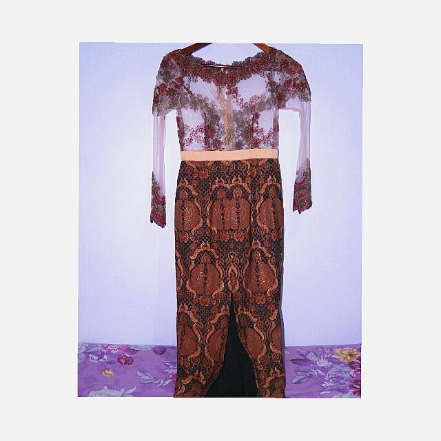 Long Dress Kebaya Batik