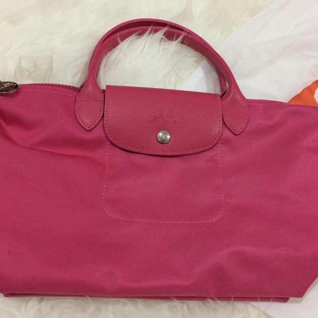 Longchamp Neo Pink Small Authentic Vvgc