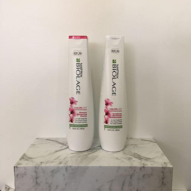 Matrix Biolage Colour Shampoo And Conditioner