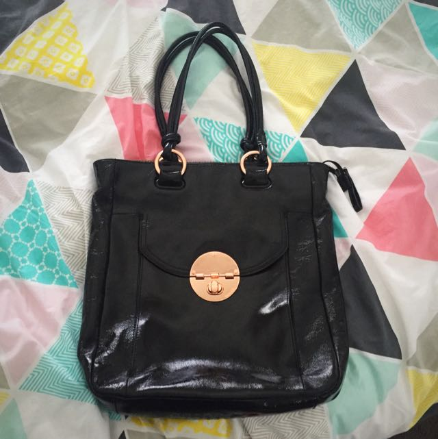 Mimco Turnlock Work Tote