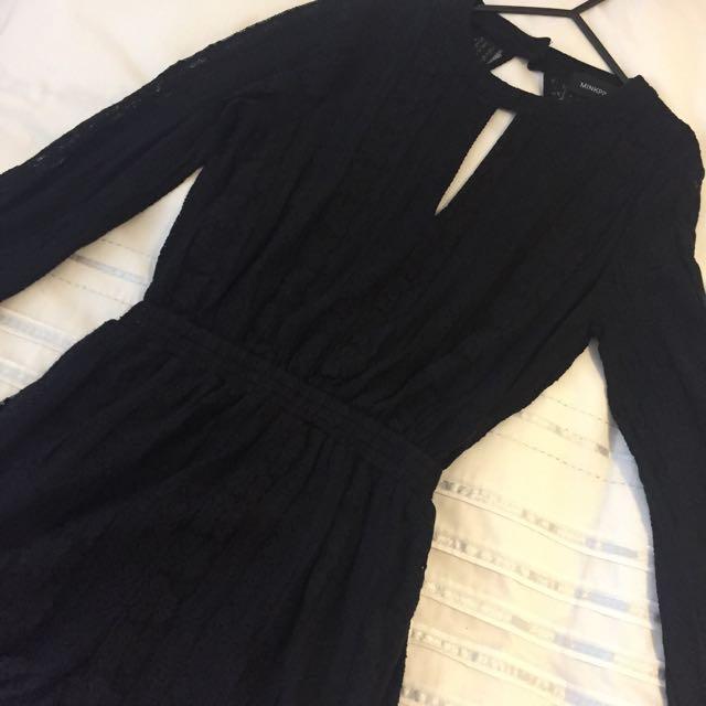 Minkpink Black Jumpsuit