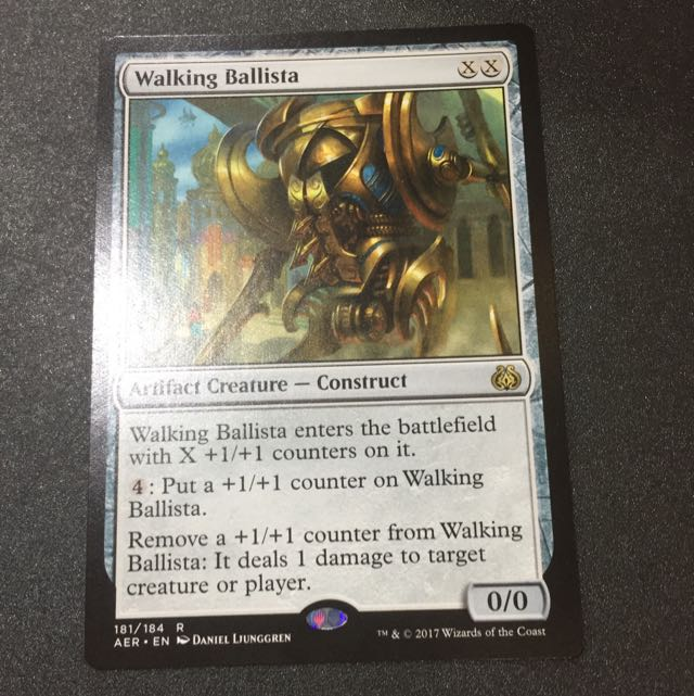 mtg singles 1x walking ballista toys games board games cards