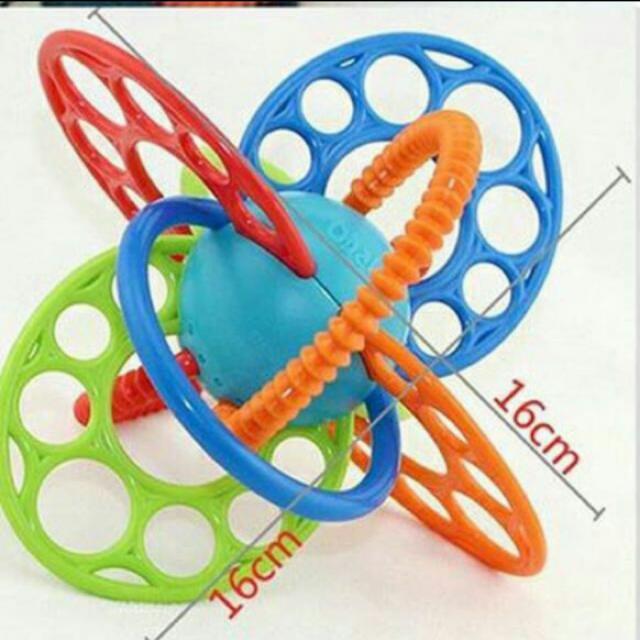 Oball Flexiloops Teething Mainan Anak