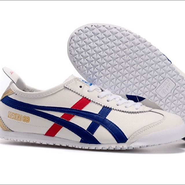 Onitsuka Tiger Red/Blue/Gold, Women's