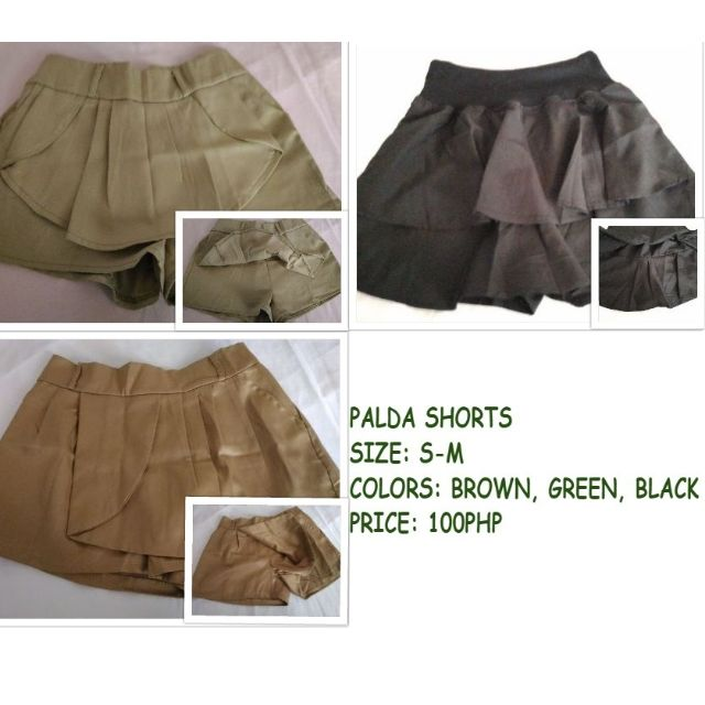 Palda Shorts 3 FOR 150