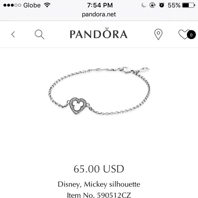 Pandora Strand Bracelet