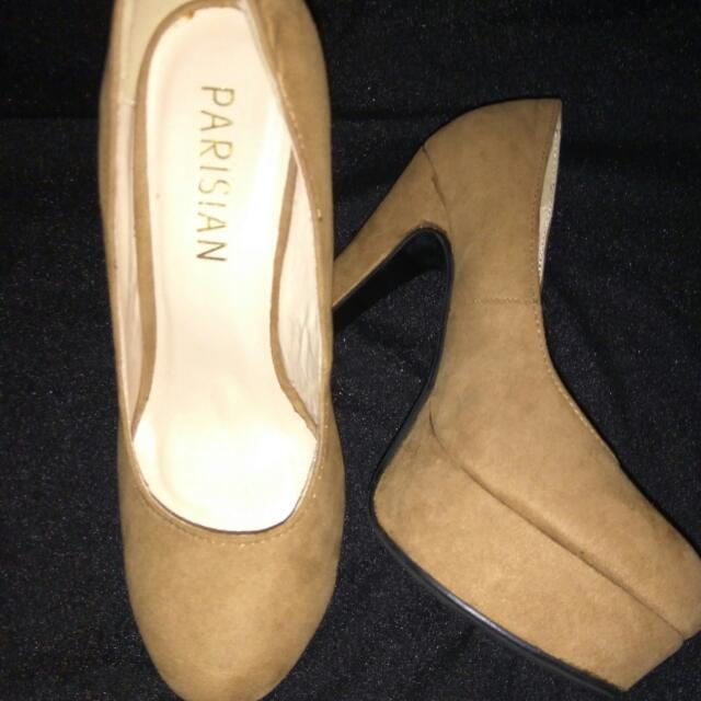 Parisian Beige Pumps