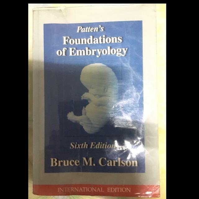 Patterns foundation Of Embryology