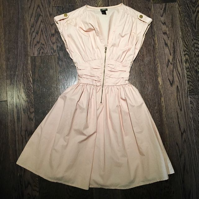 Pink H&M Dress - Zip Up Front