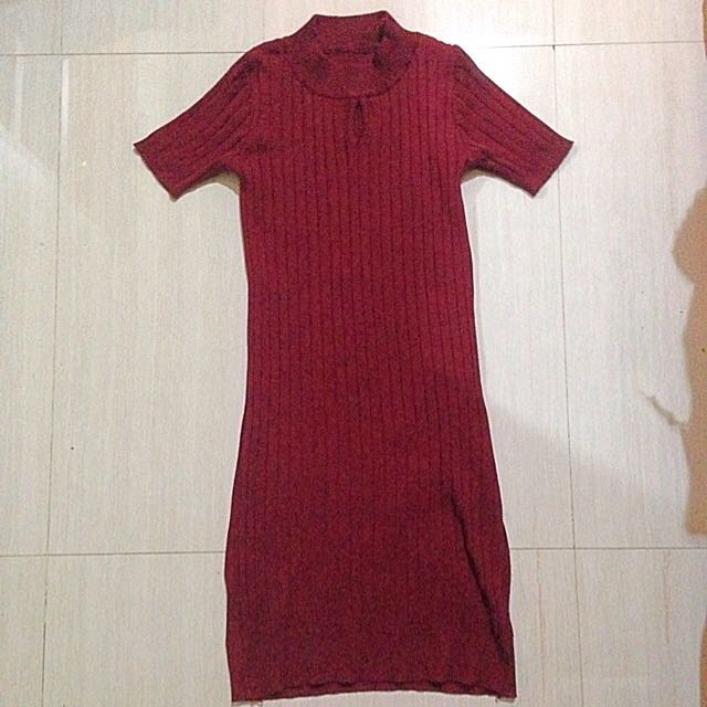 Red Span Dress