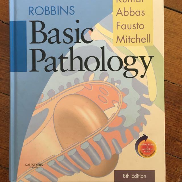 Robbins Basic Pathology Textbook