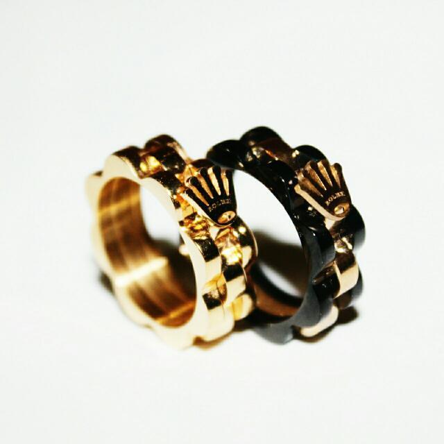 Rolex Crown Ring