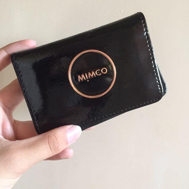 Rosegold Mimco Card Holder