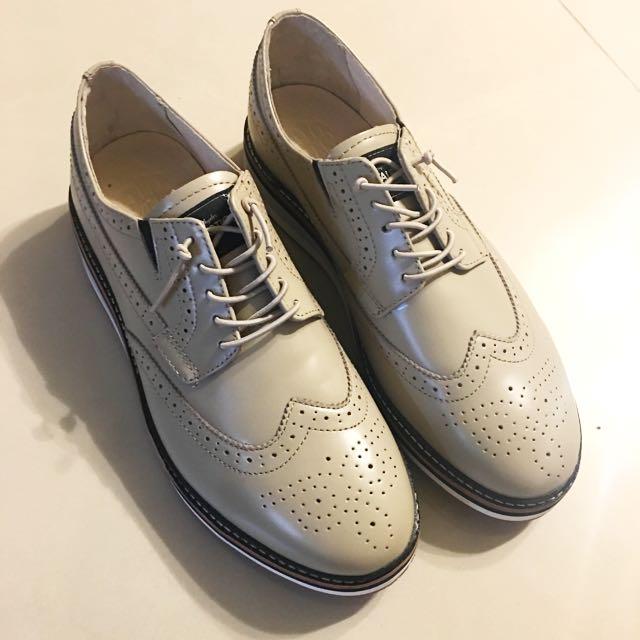 Royal 皇家 紳士 休閒 型男 百搭款 《全新》牛津鞋