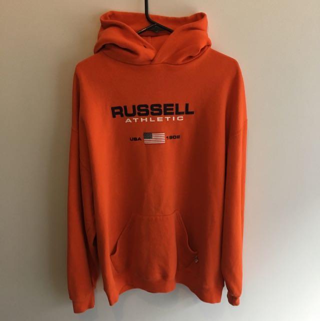 Russell Athletic Vintage Hoodie XL