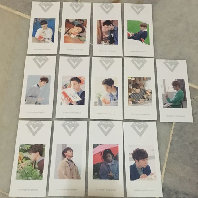 Seventeen Love Letter Bookmark