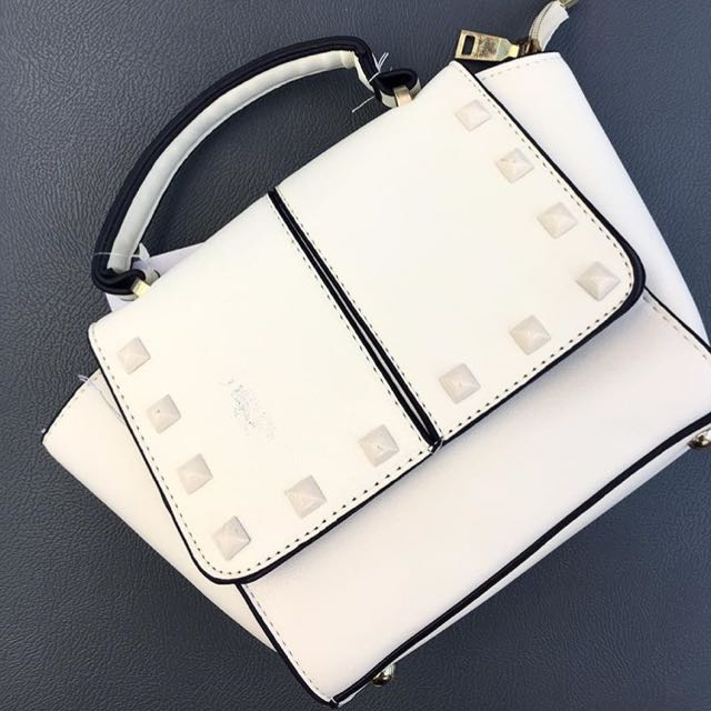 Small White Handbag