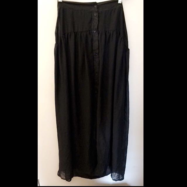Spring Mesh Skirt