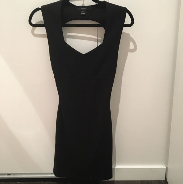 Strappy Backless Forever 21 Dress
