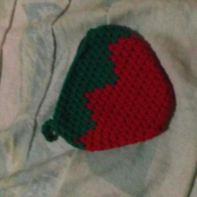 Strawberry Pouch Made In Baguio
