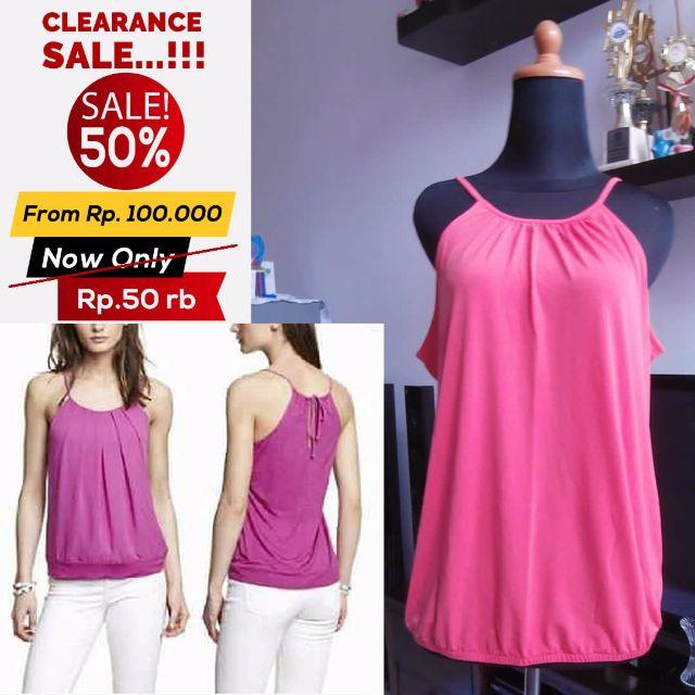 SALE 50% !!! Tangtop Express Pink