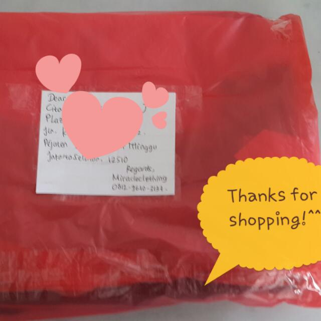 Thank You For Shopping Dear! #trustedseller