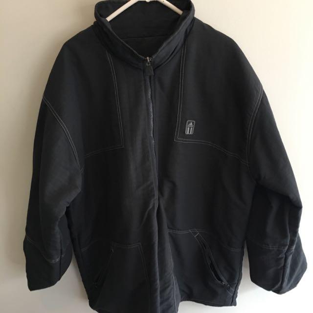 Thick Adidas Reversible Coat