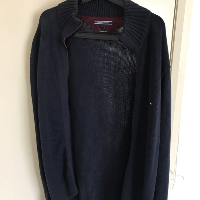 tommy hilfiger knit jacket