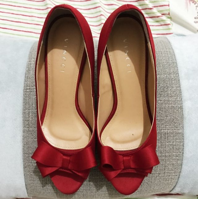 Vincci RED Shoes Ori