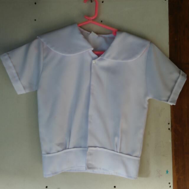 white uniform for elementary