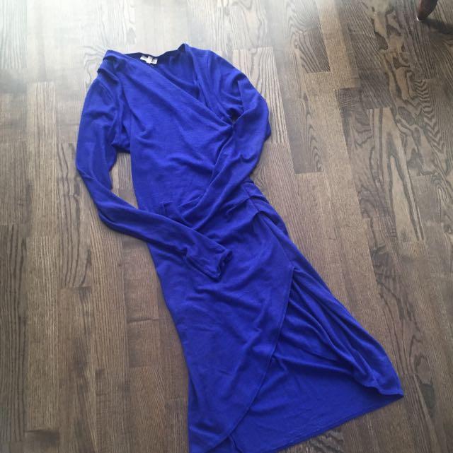 Wilfred Free Klum Dress In Blue