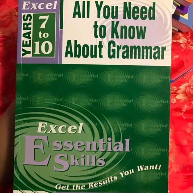 Year7-10 Grammar Book