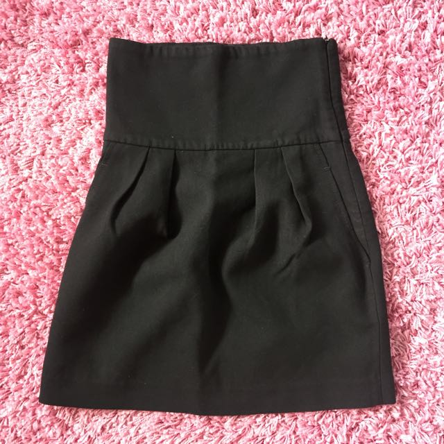 Zara Woman Black mini skirt