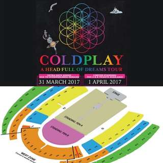 COLDPLAY CONCERT SINGAPORE