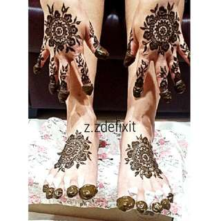 Henna For Brides/carnival/events & Etc