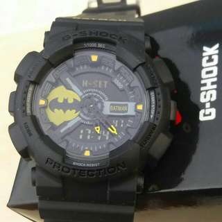 Gshock Double Time Batman