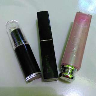 Wet N Wild, Purbasari, Dior Lip gloss