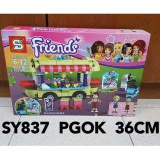 Friends Amusement Park Hot Dog Van Lego Compatible SY837 Lego Compatible