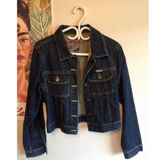 Vintage Silver Denim Jacket