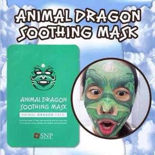 Animal Mask Dragon Shooting / Masker Hewan Animal Naga SNP ORIGINAL