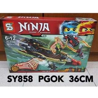 2017 New Ninja Lego Compatible Ninjago Destiny's Shadow Ninja SY858