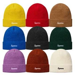 (收)supreme 2016fw毛帽 黃、藍、綠、土色