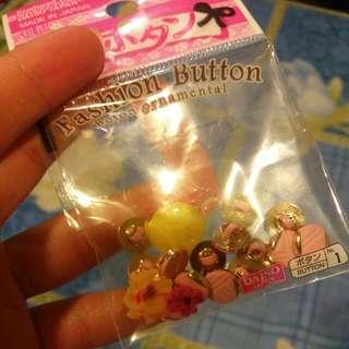 Daiso Buttons