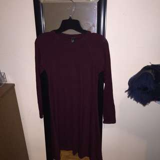Bluenotes Maroon Dress