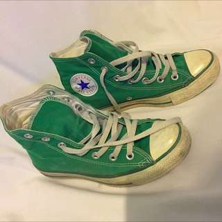 Chuck Taylor Shoes - Green
