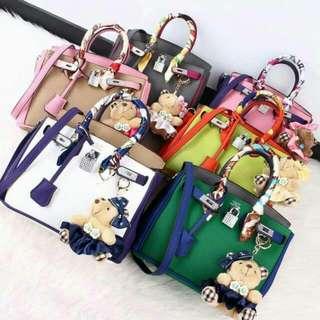 Hermes Birkin Twilly 2 Tone Multicolor Handbags