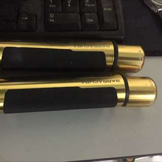 Barracuda handle grip gold