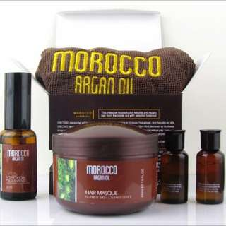 Argan Oil Treatment Hair Mask Kit