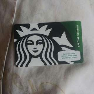 Starbucks Special Edition Card
