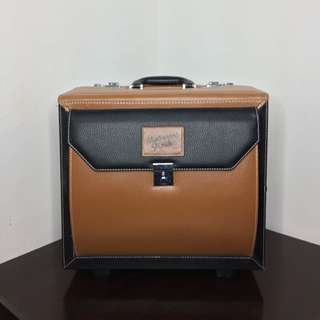 Masami Shouko Beauty Case in Warm Brown